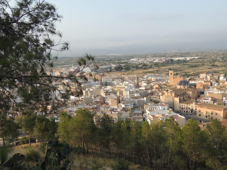 Llíria, desde el Monasterio de Sant Miquel