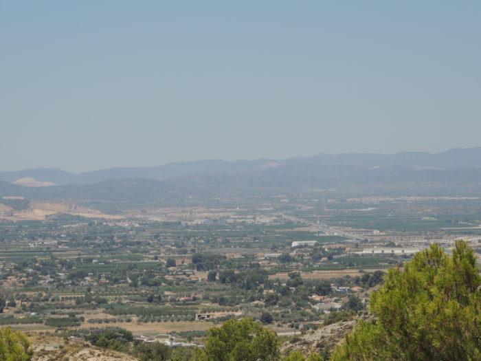 Vistas Monasterio Sant Miquel de Llíria