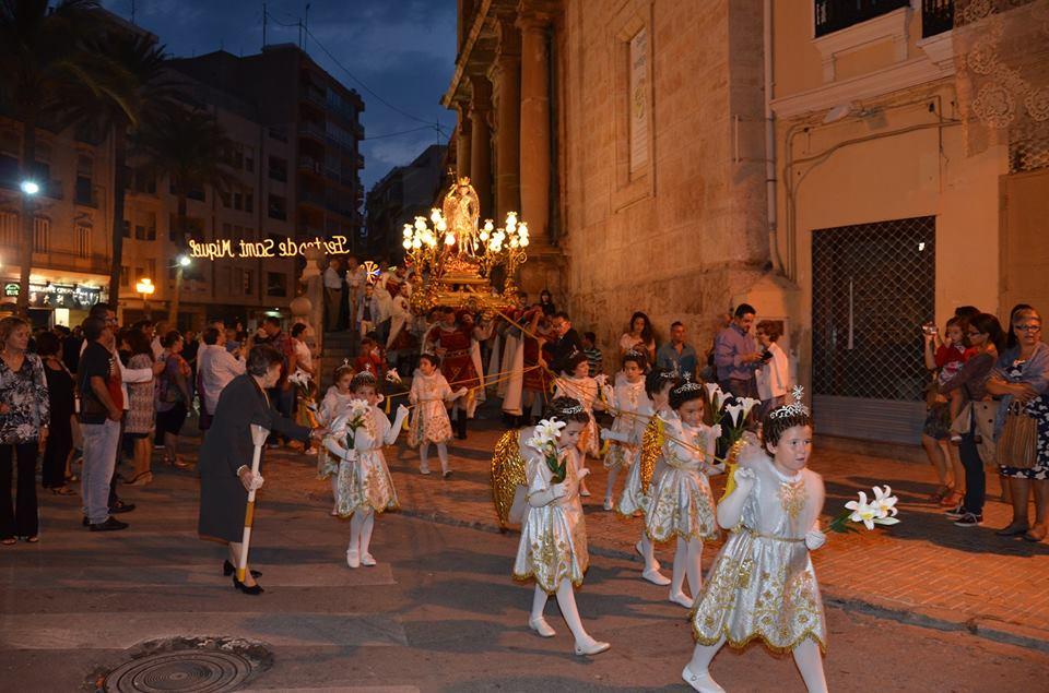 Procesión de Sant Miquel - Foto: Facebook Portants Sant Vicent Ferrer de Llíria