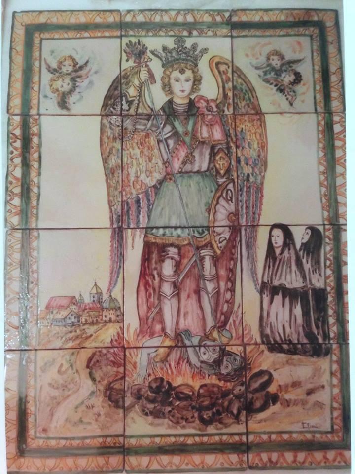 Retablo cerámico - Sant Miquel de Lliria
