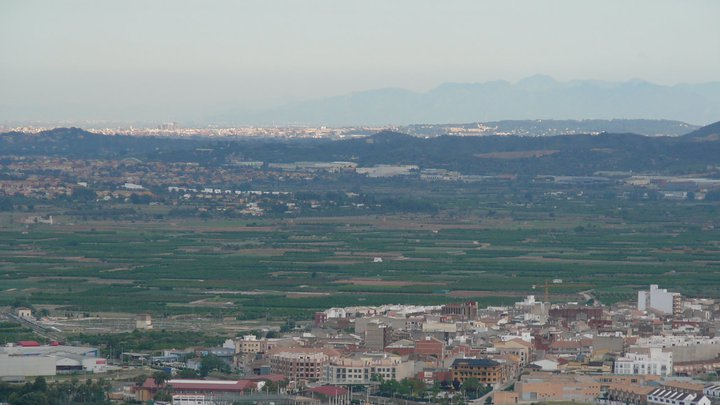 Vistas Este Sant Miquel Lliria. Fuente Facebook Real Monasterio 2